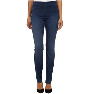 NYDJ Evie Pull On Knit High-Rise Denim Leggings